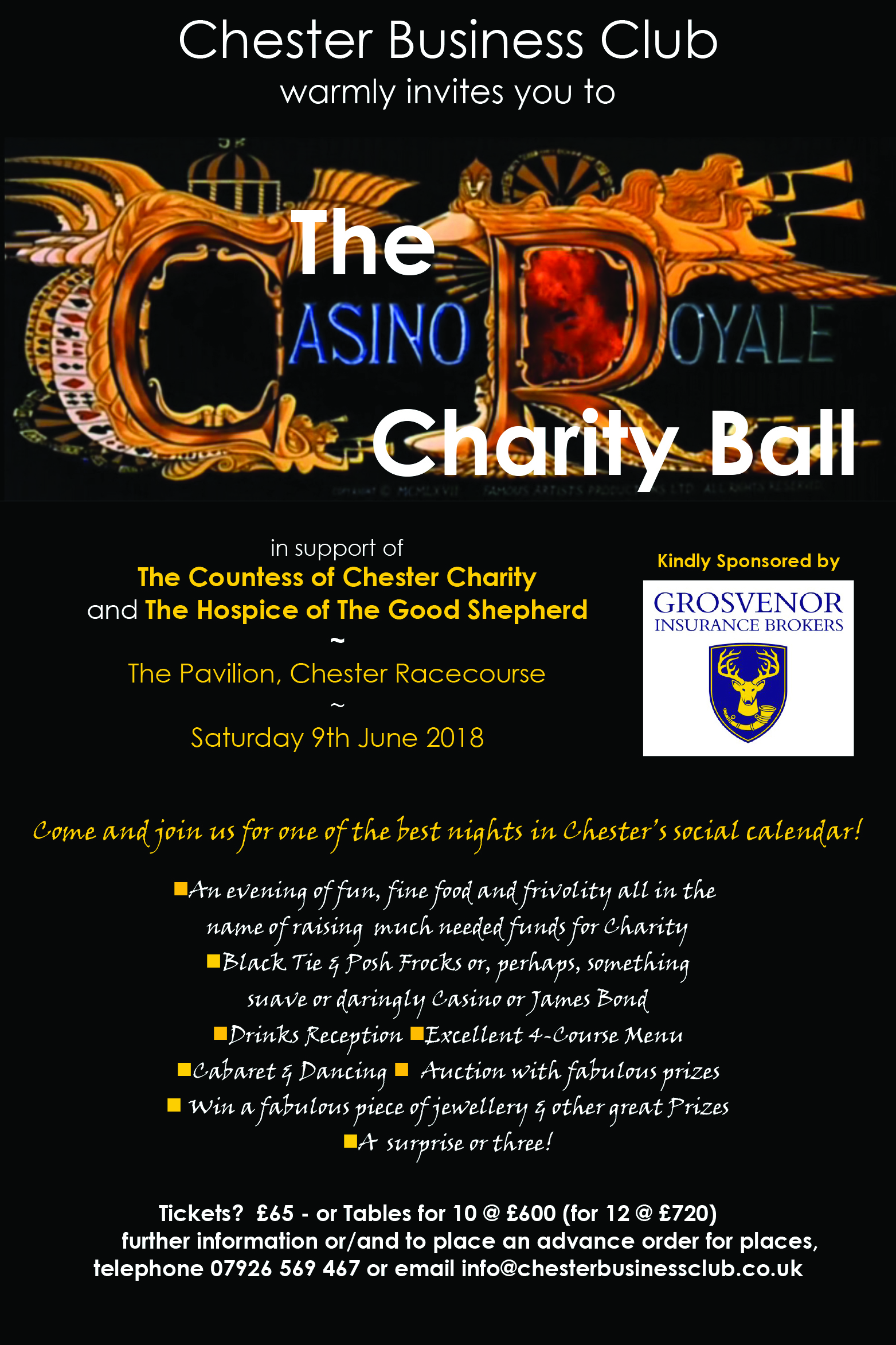 The Casino Royale Charity Ball