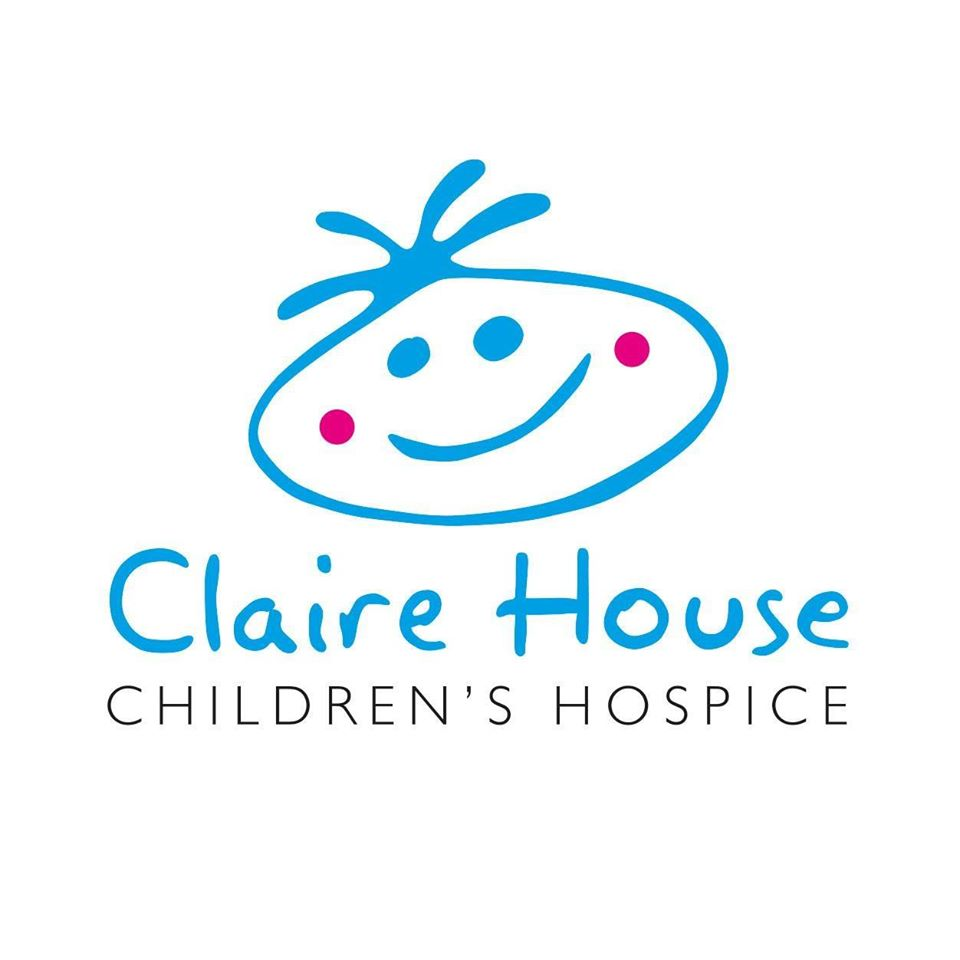 Claire House Children's Hospice charity logo