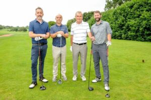 Charity Golf Day - the winning team - Excello Law